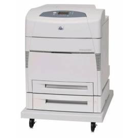 HP Color LaserJet 5550dtn Drucker (Q3716A # 430) grau - Anleitung