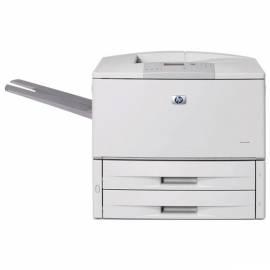 Bedienungsanleitung für HP LaserJet 9050DN-Drucker (Q3723A # B19)-grau
