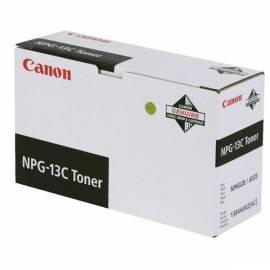 Toner CANON NPG-13, 5 k, 9 Seiten (1384A002) schwarz Gebrauchsanweisung