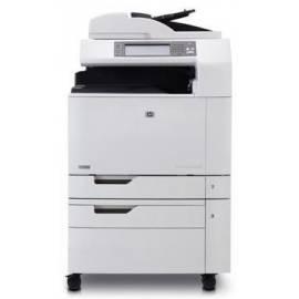 Bedienungshandbuch HP Color LaserJet CM6030 (CE664A # B19) grau