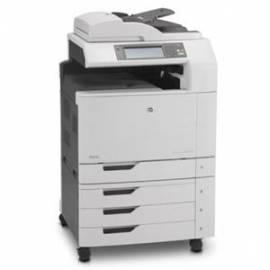 Handbuch für HP Color LaserJet CM6040f-Drucker (Q3939A # B19)-grau