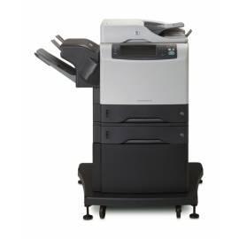 Datasheet HP LaserJet M4345xs (CB427A # B19) schwarz/grau
