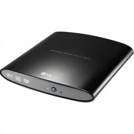 CD/DVD-Laufwerk LG GP08NU6B (GP08NU6B.black AUAE10B) Bedienungsanleitung