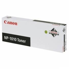 Toner CANON NP 1010, 4 k Seiten (1369A002) schwarz - Anleitung