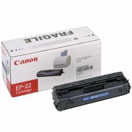 Toner CANON EP-22, 2 5 k Seiten (1550A003) schwarz Gebrauchsanweisung