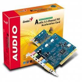 Service Manual Soundkarte GENIUS Soundkarte SM Value 5.1 (31720009100)