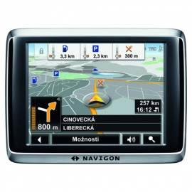 Bedienungshandbuch Navigationssystem GPS NAVIGON 2510 schwarz/silber