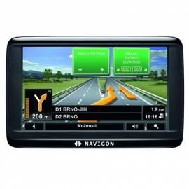 Datasheet Navigationssystem GPS NAVIGON 40 Plus schwarz