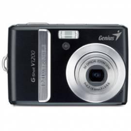 Bedienungsanleitung für Digitalkamera GENIUS G-Shot V1200 (32300095101) schwarz