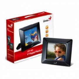 Elektronische Fotoframe GENIUS PF-800 (32420037100) schwarz Gebrauchsanweisung