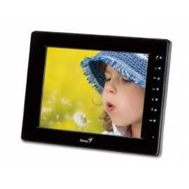 Bedienungshandbuch Elektronische Fotoframe GENIUS PF-T805 (32420036100) schwarz