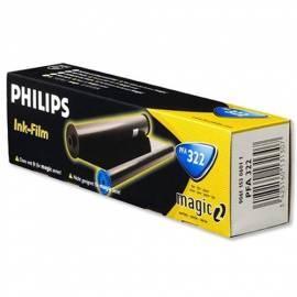 Benutzerhandbuch für Tintenpatrone PHILIPS PFA 322 (906115306011) schwarz
