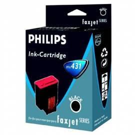 Bedienungshandbuch Tintenpatrone PHILIPS PFA 432 (906115308019) schwarz