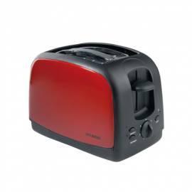 Toaster HYUNDAI TO700R rot/Edelstahl Gebrauchsanweisung