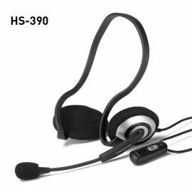 Handbuch für Headset CREATIVE LABS HS-390 (51MZ0305AA005) schwarz