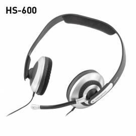 Headset CREATIVE LABS HS-600 (51MZ0120AA007) schwarz/silber - Anleitung