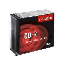 Aufnahme-Medien ist IMATION CDRIM0010 (i18645) - Anleitung