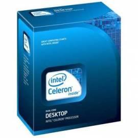 Datasheet Prozessor INTEL Celeron Dual-Core E3300 BOX (2,5 GHz) (BX80571E3300)