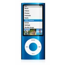 MP3-Player APPLE iPod Nano 16GB (mc066qb/a) blau - Anleitung