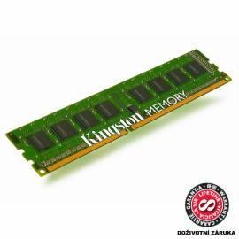 Benutzerhandbuch für KINGSTON 1 GB Speicher-Module von DDR3 - 1333MHz (KVR1333D3N9/1 g)