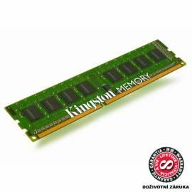 Speichermodulen KINGSTON 2 GB DDR3-1333 CL9 (KVR1333D3N9/2 g) Gebrauchsanweisung