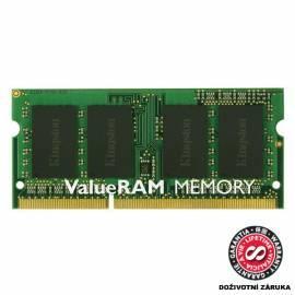 Bedienungshandbuch Speichermodulen KINGSTON SODIMM DDR3 - 1333MHz CL9 (KVR1333D3S9/1 g)
