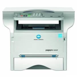 Drucker, KONICA MINOLTA PagePro 1480MF (9967000875) Gebrauchsanweisung