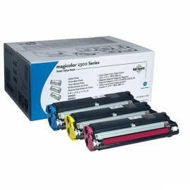 Bedienungsanleitung für Toner KONICA MINOLTA MC2300 (4576611) blau/gelb/rosa