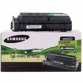 Bedienungsanleitung für Toner SAMSUNG ML + 5000 5 (ML + 5000 D 5/SEE) schwarz