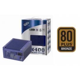 400W zdroj FORTRON ZEN fanless, PFC, 80PLUS bronze (PPA4000300) - Anleitung
