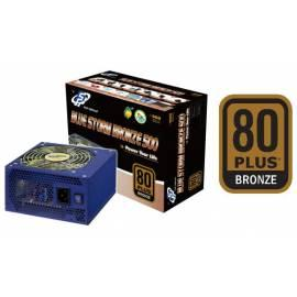 PDF-Handbuch downloadenZdroj FORTRON Blue Storm BRONZE 500W, 85PLUS (PPA5001902)
