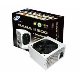 Service Manual Zdroj FORTRON SAGA II 500, 500W, PFC, PCI-E &   Gt; 80 % (PPA5002401)