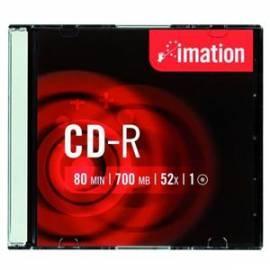 Service Manual Festplatte Imation CD-R 700MB / 80min, 52 X, slim Box, 10 ks