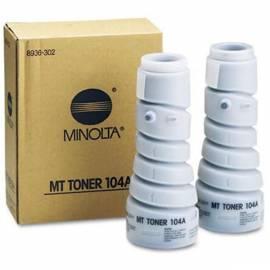 Bedienungshandbuch Toner KONICA MINOLTA 104B (1) EP1054/1085 2x270g (8936304) black