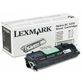 Toner LEXMARK Optra SC 1275 (1361751) schwarz Bedienungsanleitung