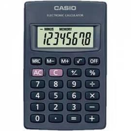Handbuch für Taschenrechner CASIO HL 820 LV BK schwarz