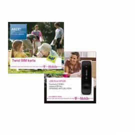 NET-Steuerelemente und WiFi-T-MOBILE-Internet + Mobile Modem ZTE HF626 Farbe schwarz Gebrauchsanweisung