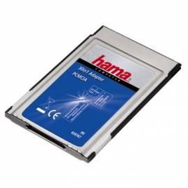 Leser Gummi Speicher PC-Card Adapter Schädlinge, 16-Bit, 30 in 1, Firmware (39767) Bedienungsanleitung