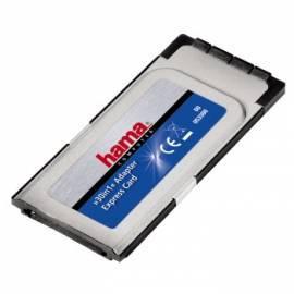 Handbuch für HAMA PCMCIA Kartenleser ExpressCard 32-Bit, 30 in 1 (53300)