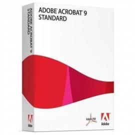 Software ADOBE Acrobat 9.0 Standard CZ WIN Upg (22002456) Bedienungsanleitung