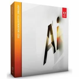Bedienungsanleitung für Software ADOBE Illustrator CS5 WIN CZ Upg (65061336)