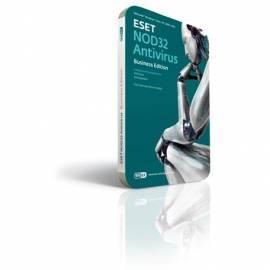 Bedienungsanleitung für Software ESET NOD32 Antivirus werden 15 PC/1 Jahr Box