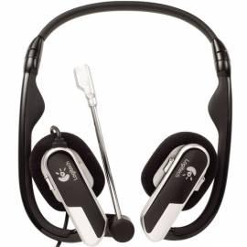 LOGITECH H555 Laptop Headset (981-000262) schwarz - Anleitung