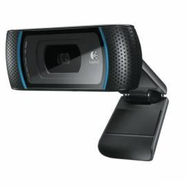 LOGITECH HD Webcam C910 für Webcam (960-000641) schwarz Gebrauchsanweisung