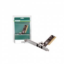 Bedienungsanleitung für Zubehör für PC DIGITUS FireWire PCI 3 + 1 Port, VIA VT6306, Low-Profile (DS-33204)