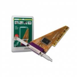 Datasheet Zubehör für PC DIGITUS PCI Adapter 1 X Parallel (DS-33010)