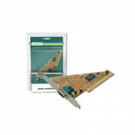 Zubehör für PC DIGITUS PCI Adapter 1 X RS232 (DS-33000) Gebrauchsanweisung