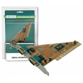 Bedienungshandbuch Zubehör für PC DIGITUS PCI Adapter 2 X RS232 (DS-33001)