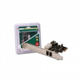Benutzerhandbuch für Zubehör für PC DIGITUS PCI Express x 1 2 + 1 x FireWire-Anschluss (DS-30201-2)