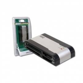 Kartenleser Card Reader USB 2.0 DIGITUS 56 in 1 (DA-70316-2)